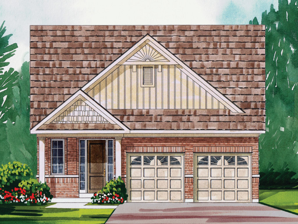 Beckham A Model Home 1699 Square Foot - Picture Homes New Home Developers