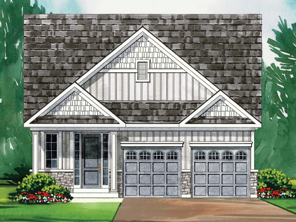 Beckham B Model Home 1699 Square Foot - Picture Homes New Home Developers