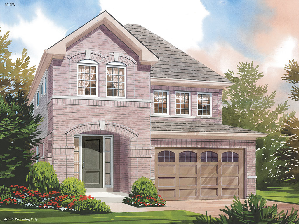 Berwick A Model Home 2119 Square Foot - Picture Homes New Home Developers