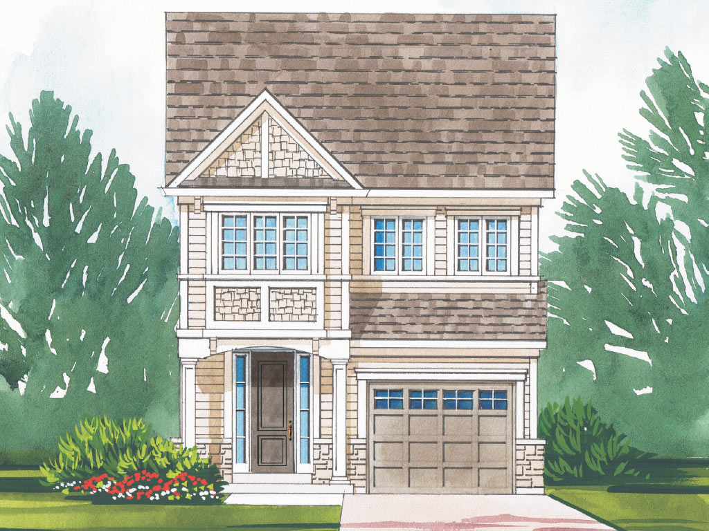 Berwick B Model Home 2057 Square Foot - Picture Homes New Home Developers
