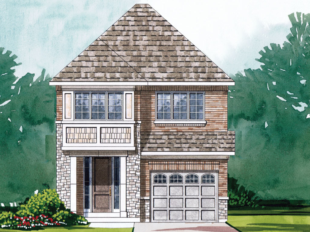 Berwick C Model Home 2130 Square Foot - Picture Homes New Home Developers