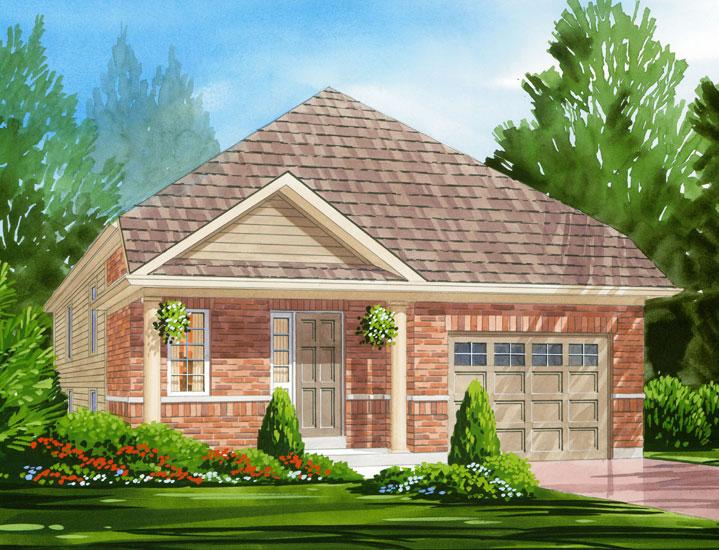 Burberry Model Home - Picture Homes New Home Developers