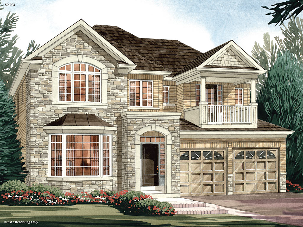 Canterbury C Model Home 3014 Square Foot - Picture Homes New Home Developers