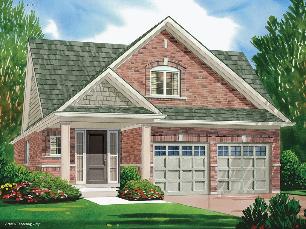 Chatham A Model Home 1648 Square Foot - Picture Homes New Home Developers