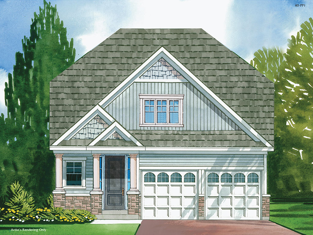 Chatham B Model Home 1633 Square Foot - Picture Homes New Home Developers