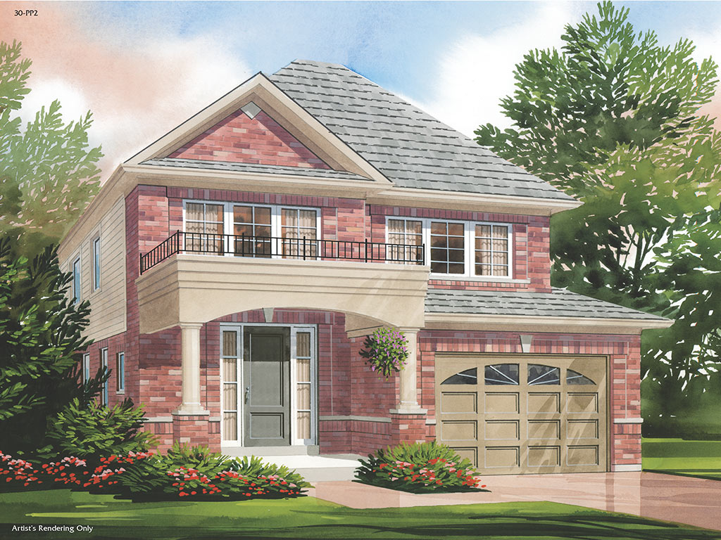 Dorchester A Model Home 1791 Square Foot - Picture Homes New Home Developers