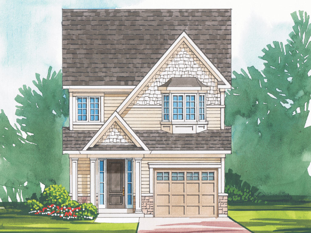 Dorchester B Model Home 1763 Square Foot - Picture Homes New Home Developers