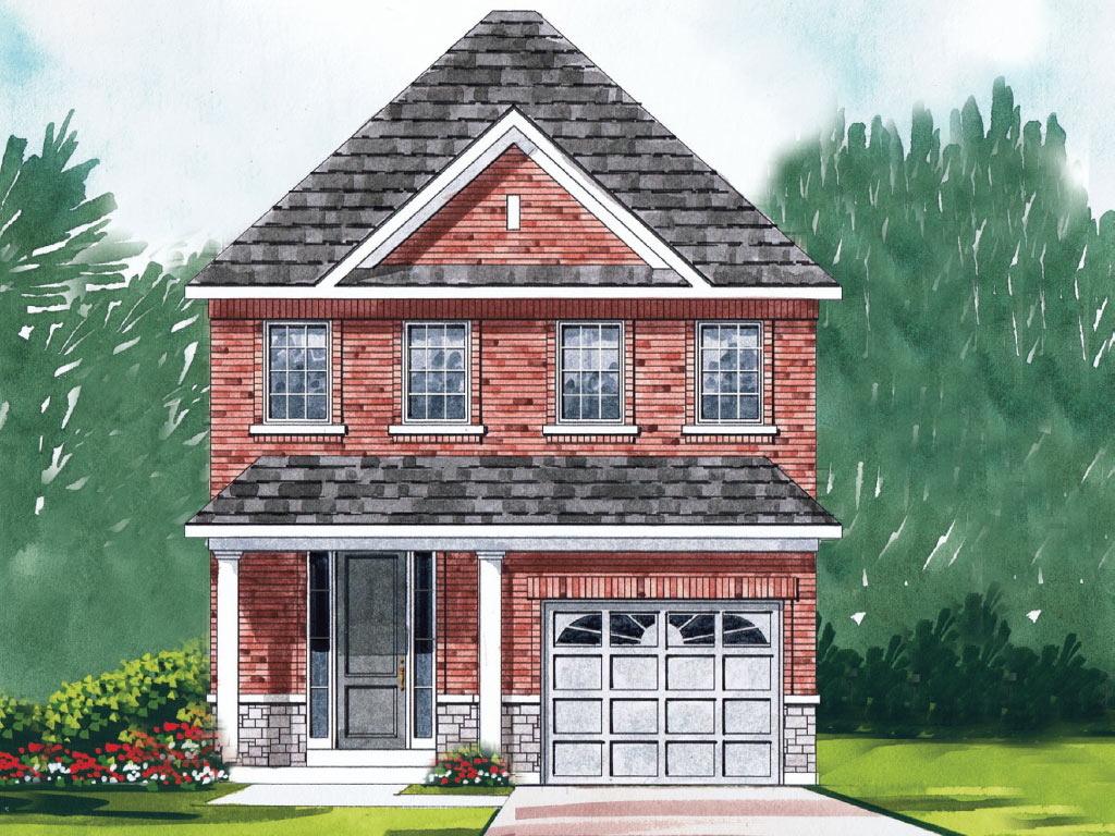 Dorchester C Model Home 1811 Square Foot - Picture Homes New Home Developers