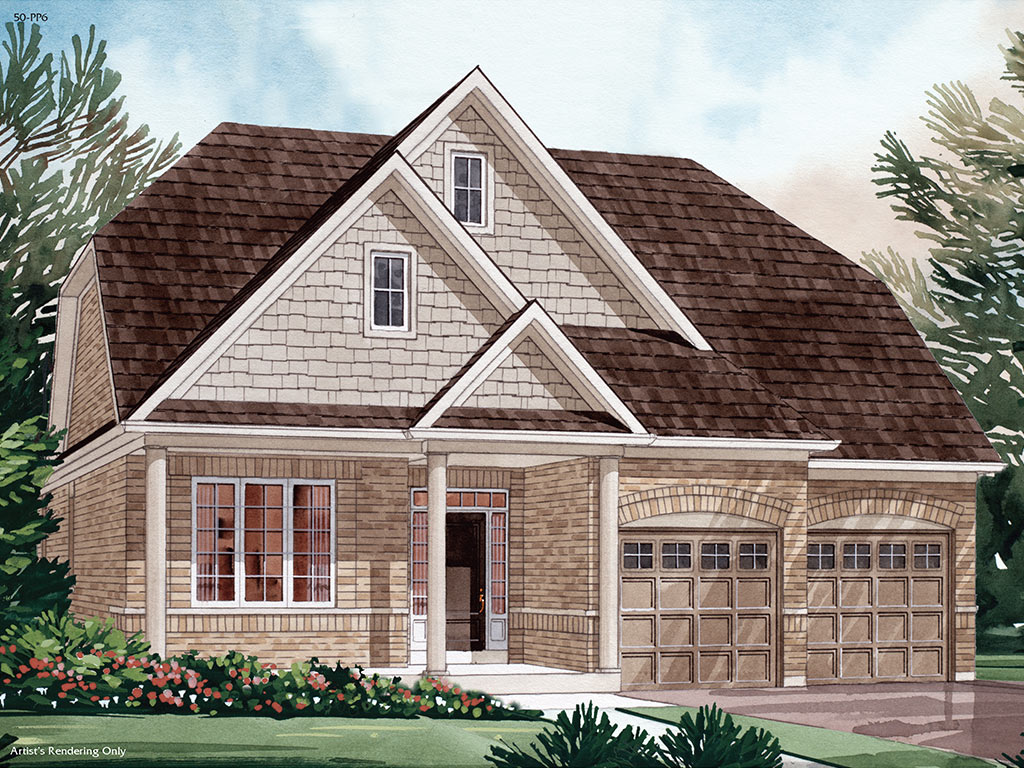 Dorset A Model Home 1859 Square Foot - Picture Homes New Home Developers