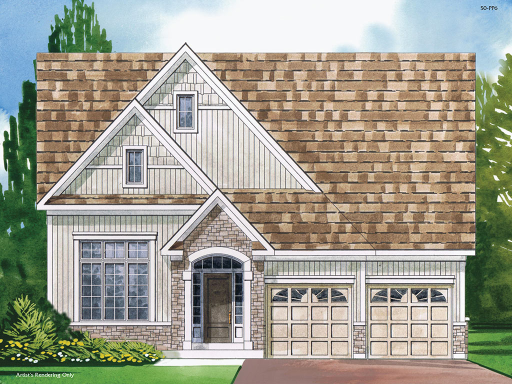 Dorset B Model Home 1850 Square Foot - Picture Homes New Home Developers