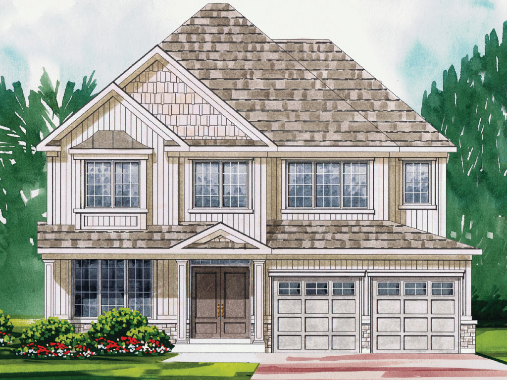 Enfield B Model Home 3251 Square Foot - Picture Homes New Home Developers