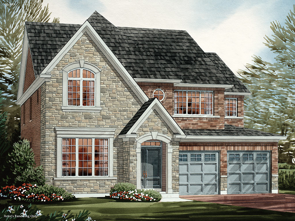 Enfield C Model Home 3327 Square Foot - Picture Homes New Home Developers