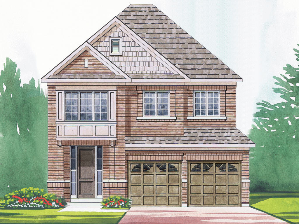 Grantham A Model Home 2363 Square Foot - Picture Homes New Home Developers