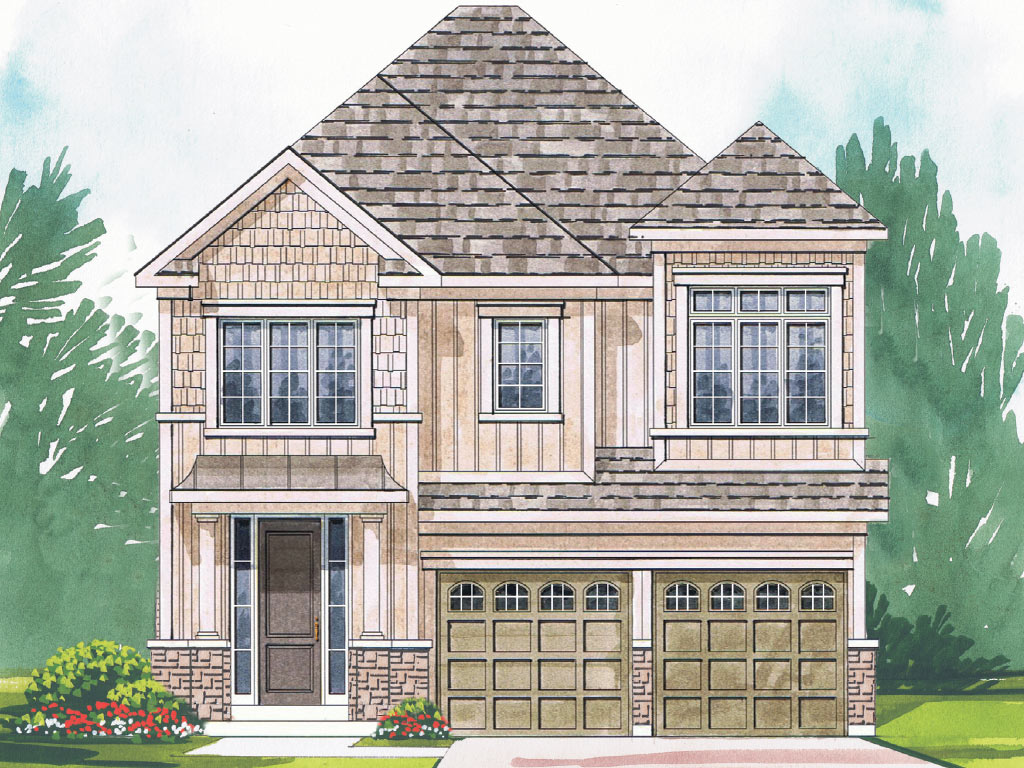Grantham B Model Home 2315 Square Foot - Picture Homes New Home Developers