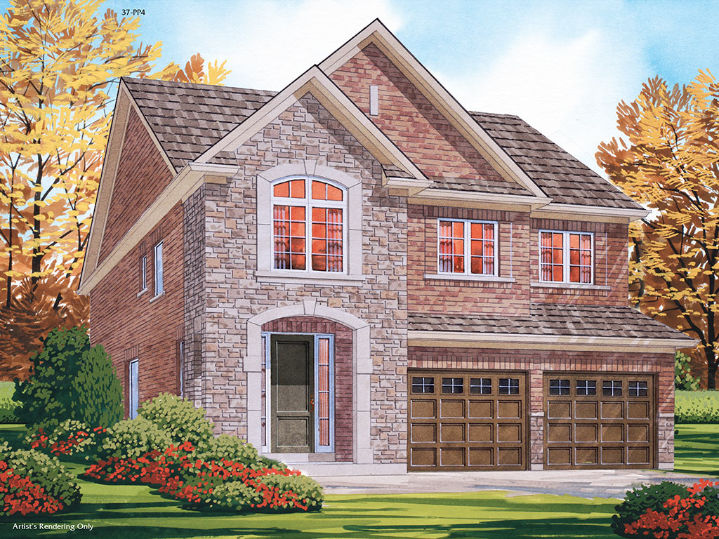 Grantham C Model Home 2353 Square Foot - Picture Homes New Home Developers