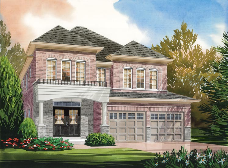 Hampton Model Home - Picture Homes New Home Developers