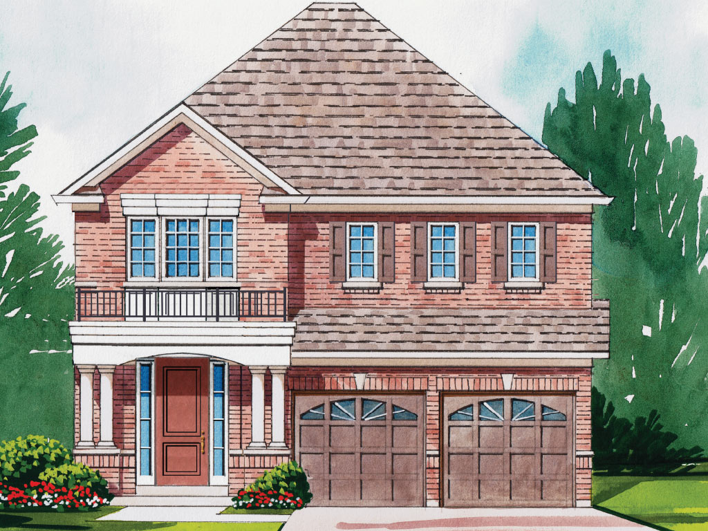 Hampton A Model Home 2601 Square Foot - Picture Homes New Home Developers