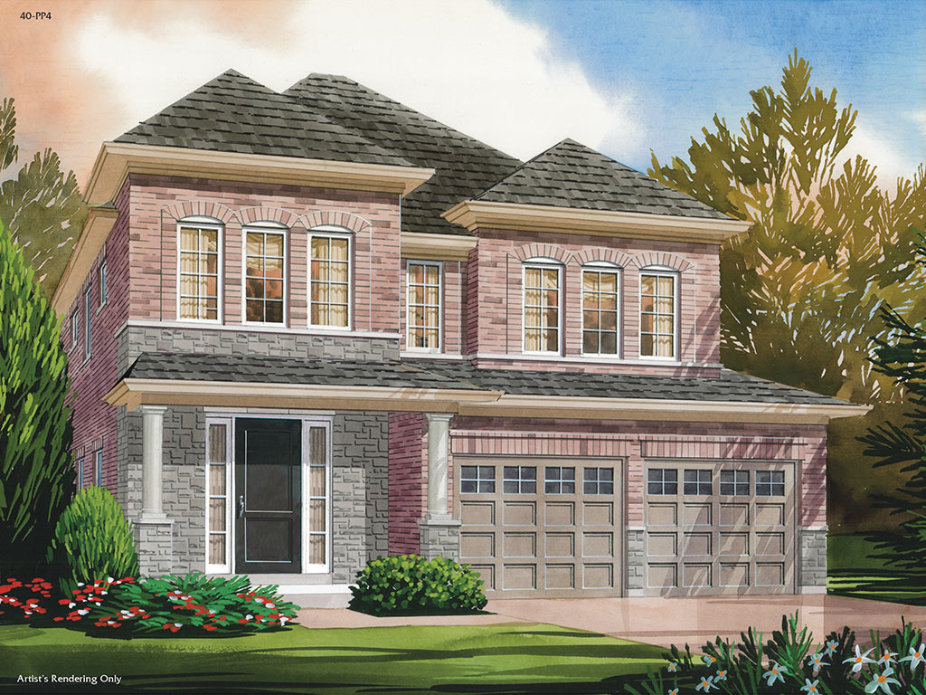 Hampton C Model Home 2615 Square Foot - Picture Homes New Home Developers