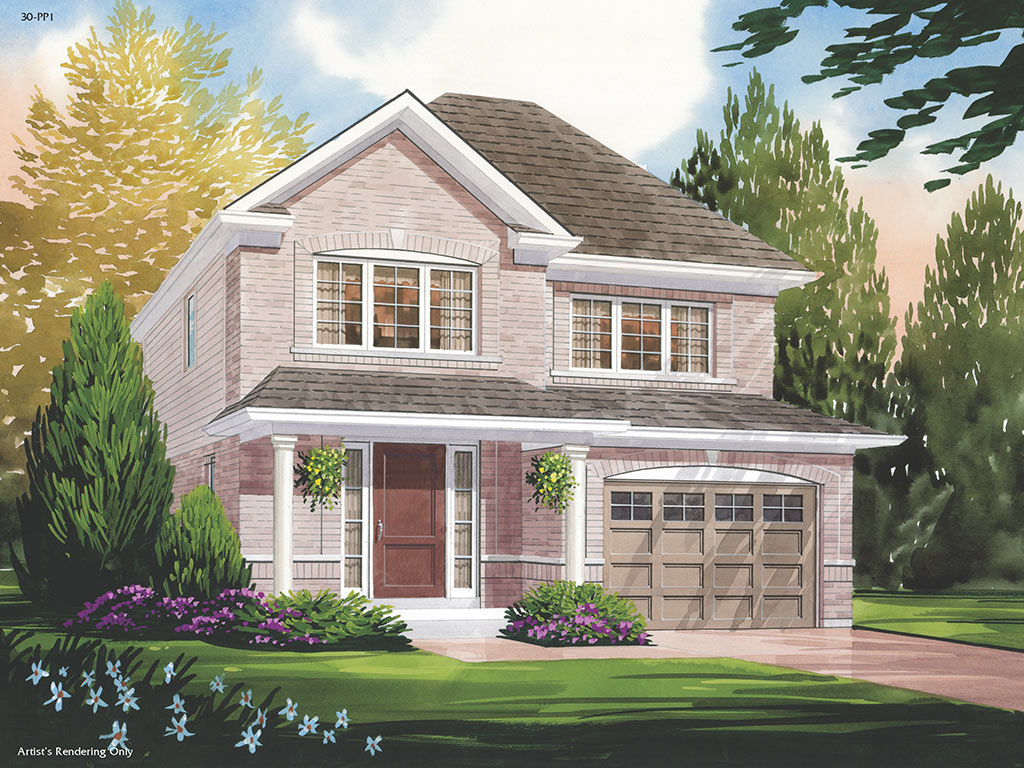 Highgrove A Model Home 1530 Square Foot - Picture Homes New Home Developers