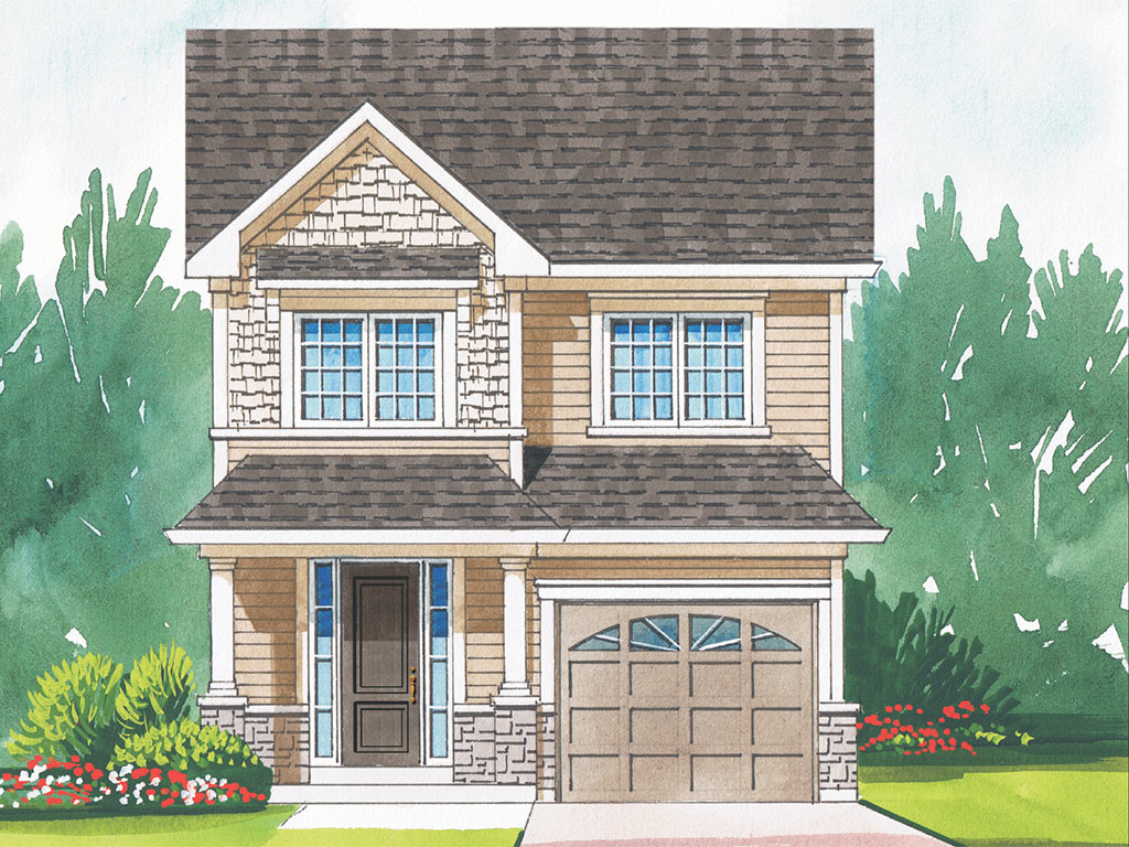 Highgrove B Model Home 1484 Square Foot - Picture Homes New Home Developers