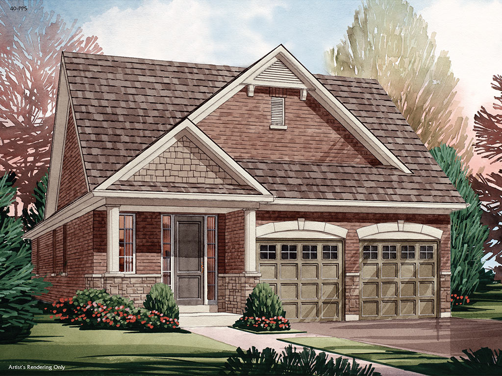 Trails of Lily Lake in Peterborough Beckham C Model Home 1699 Square Foot