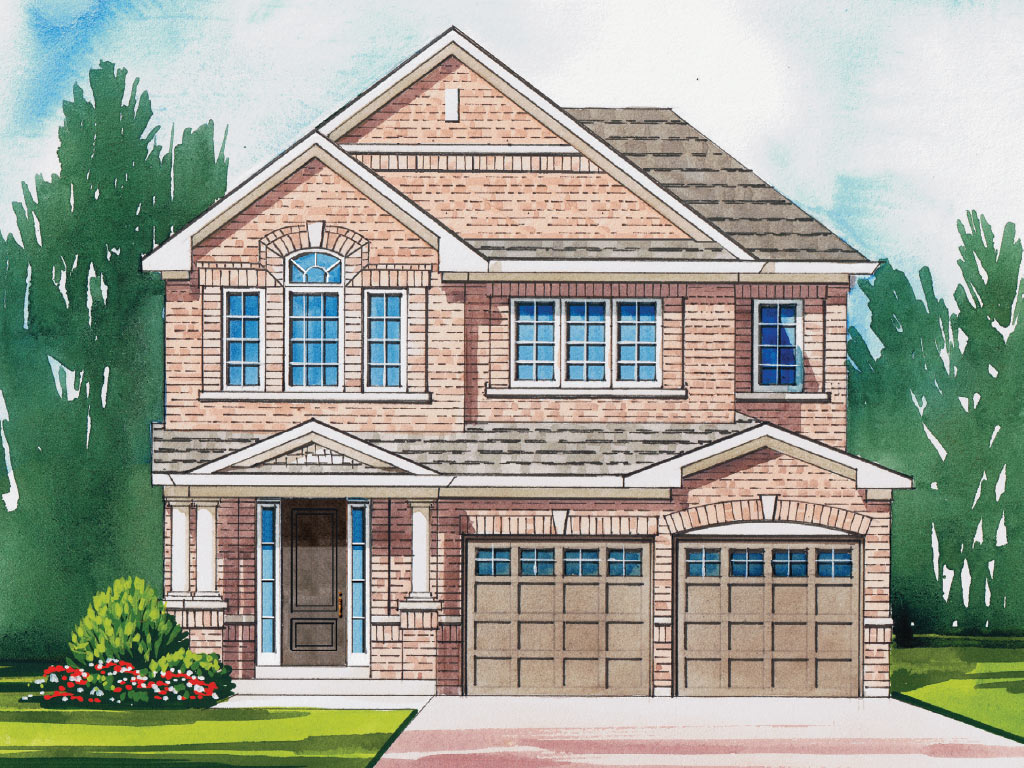 Trails of Lily Lake in Peterborough Osgoode A Model Home 1991 Square Foot