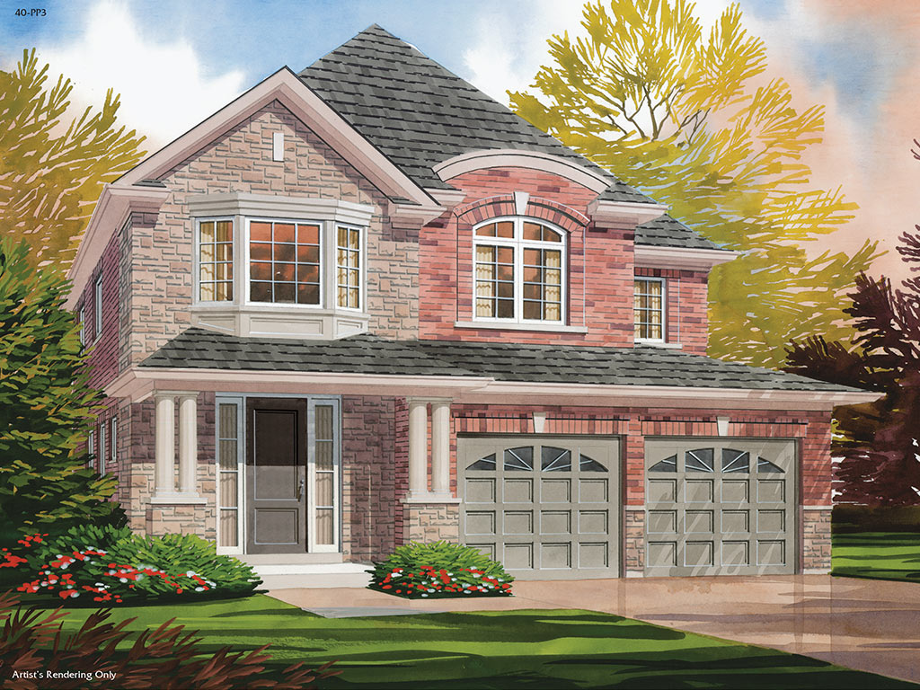 Trails of Lily Lake in Peterborough Windsor C Model Home 2475 Square Foot
