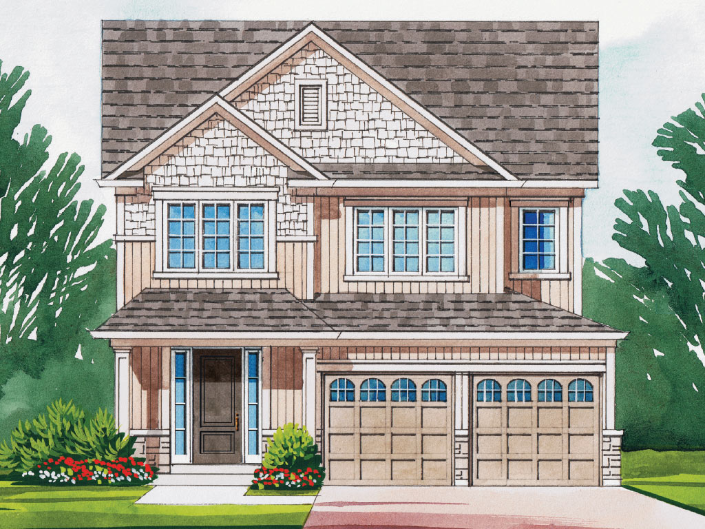 Osgoode B Model Home 1934 Square Foot - Picture Homes New Home Developers