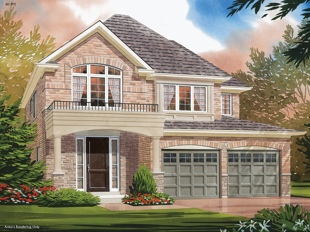 Osgoode C Model Home 1991 Square Foot - Picture Homes New Home Developers