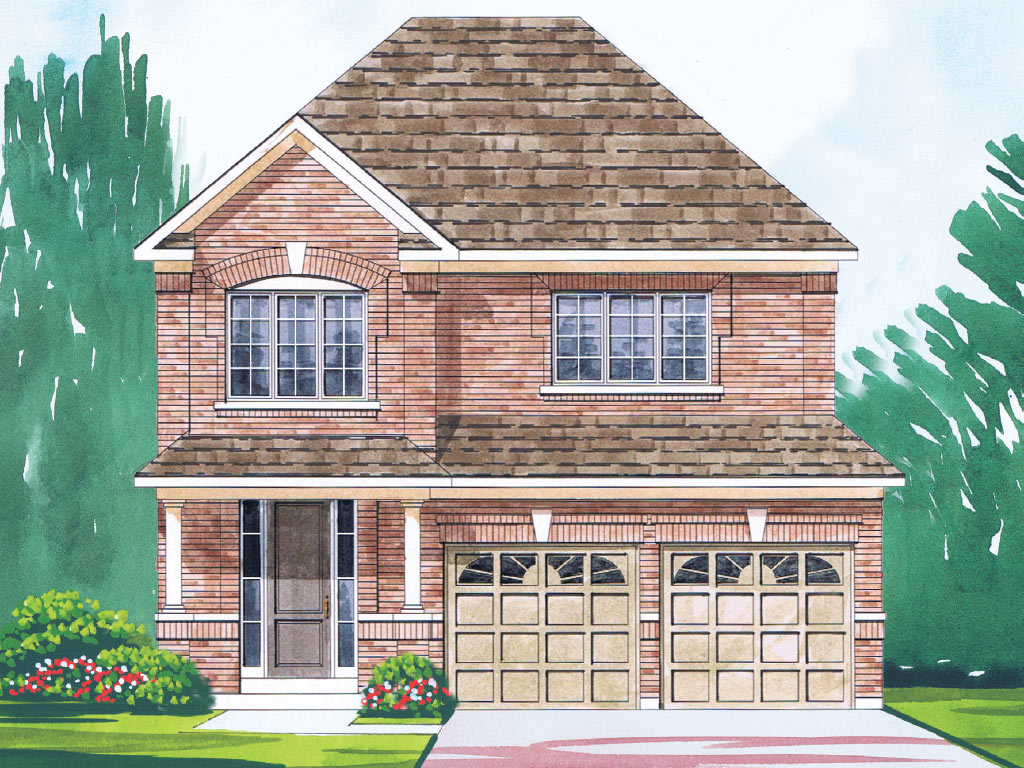 Sheffield A Model Home 2173 Square Foot - Picture Homes New Home Developers