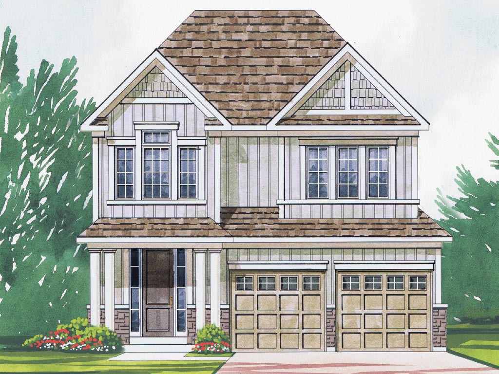 Sheffield B Model Home 2125 Square Foot - Picture Homes New Home Developers