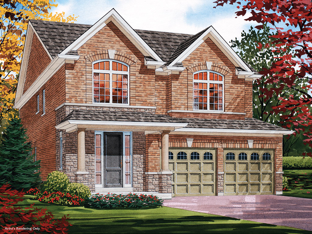 Sheffield C Model Home 2195 Square Foot - Picture Homes New Home Developers
