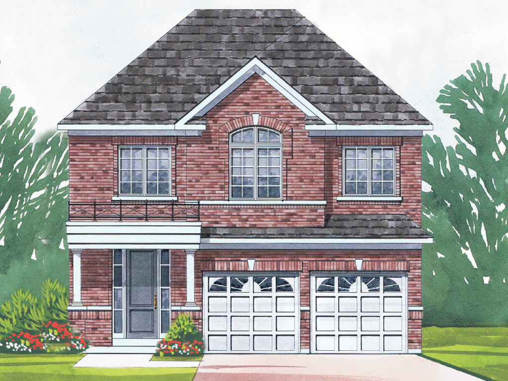 Warrington A Model Home 2477 Square Foot - Picture Homes New Home Developers