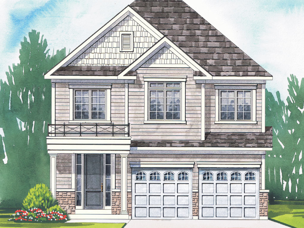 Warrington B Model Home 2396 Square Foot - Picture Homes New Home Developers