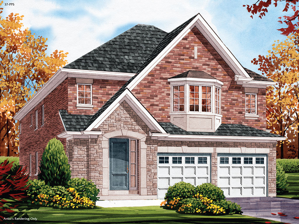 Warrington C Model Home 2478 Square Foot - Picture Homes New Home Developers