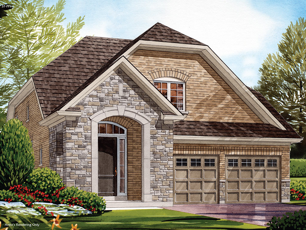 Wellington C Model Home 1879 Square Foot - Picture Homes New Home Developers