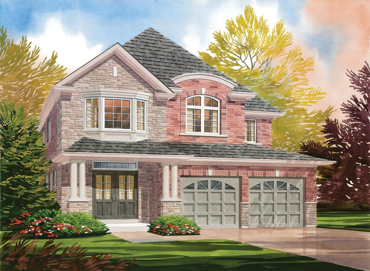Windsor Model Home - Picture Homes New Home Developers
