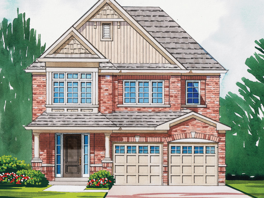Windsor A Model Home 2474 Square Foot - Picture Homes New Home Developers